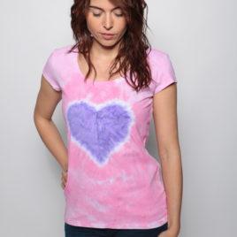Tričko so srdcom
