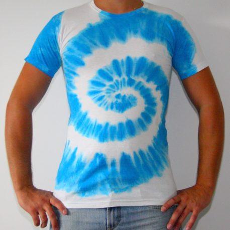 modra spirala panske batika