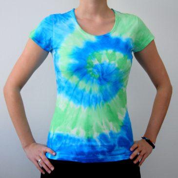 Modro – Zelené Tornádo