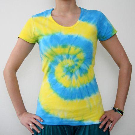 zlto modra spirala